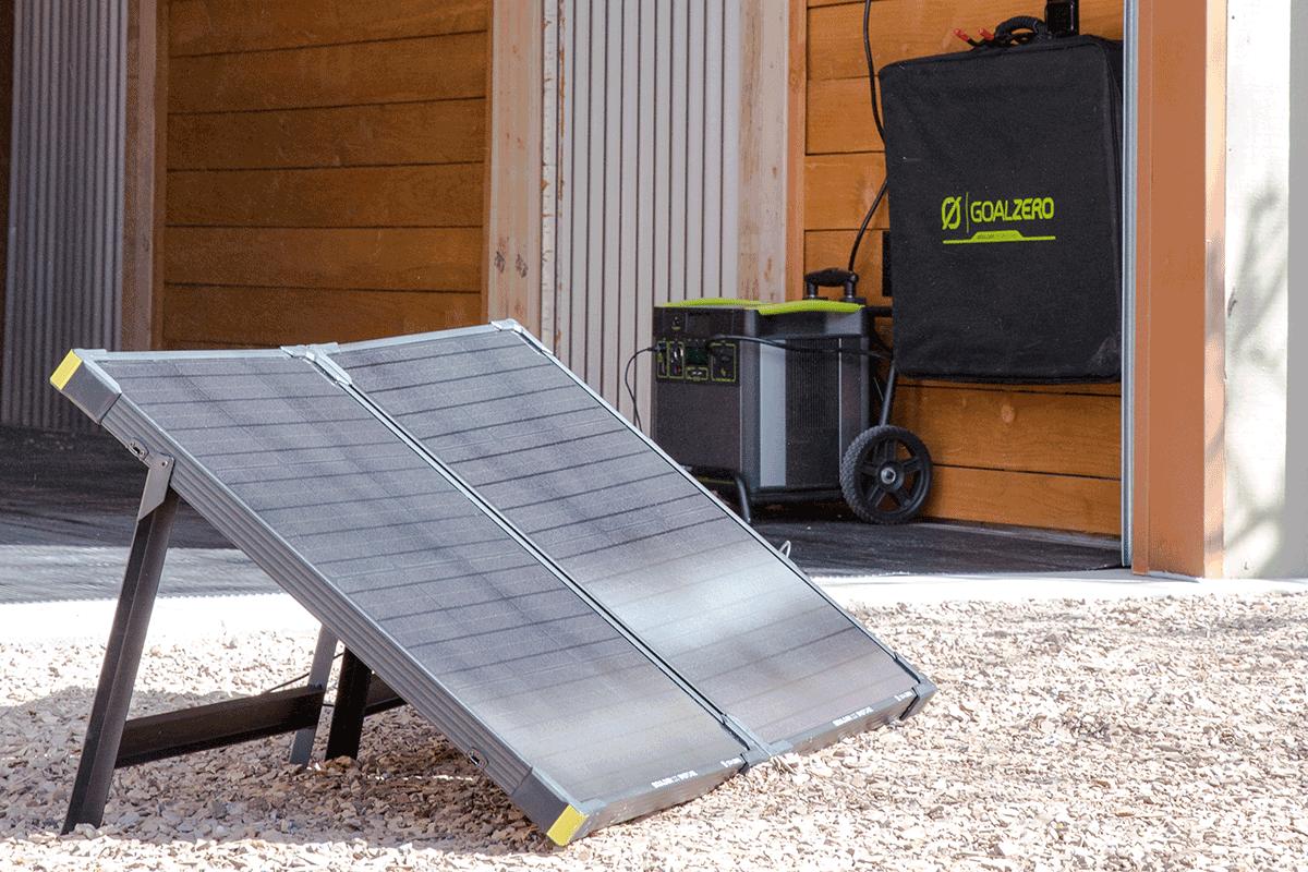 Goal Zero Solar Energy Solutions