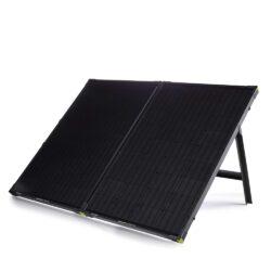 goal zero boulder 200 briefcase mountable solar panel close up