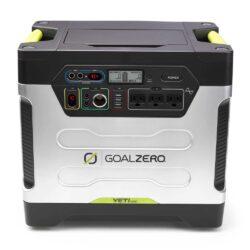 goalzero yeti 1250 portable power station close up